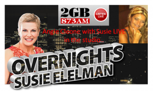 Angie Cleone with Susie Elelman_2GB LIVE